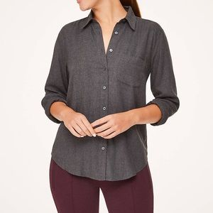 LIGHTWEIGHT Button Up LOFT